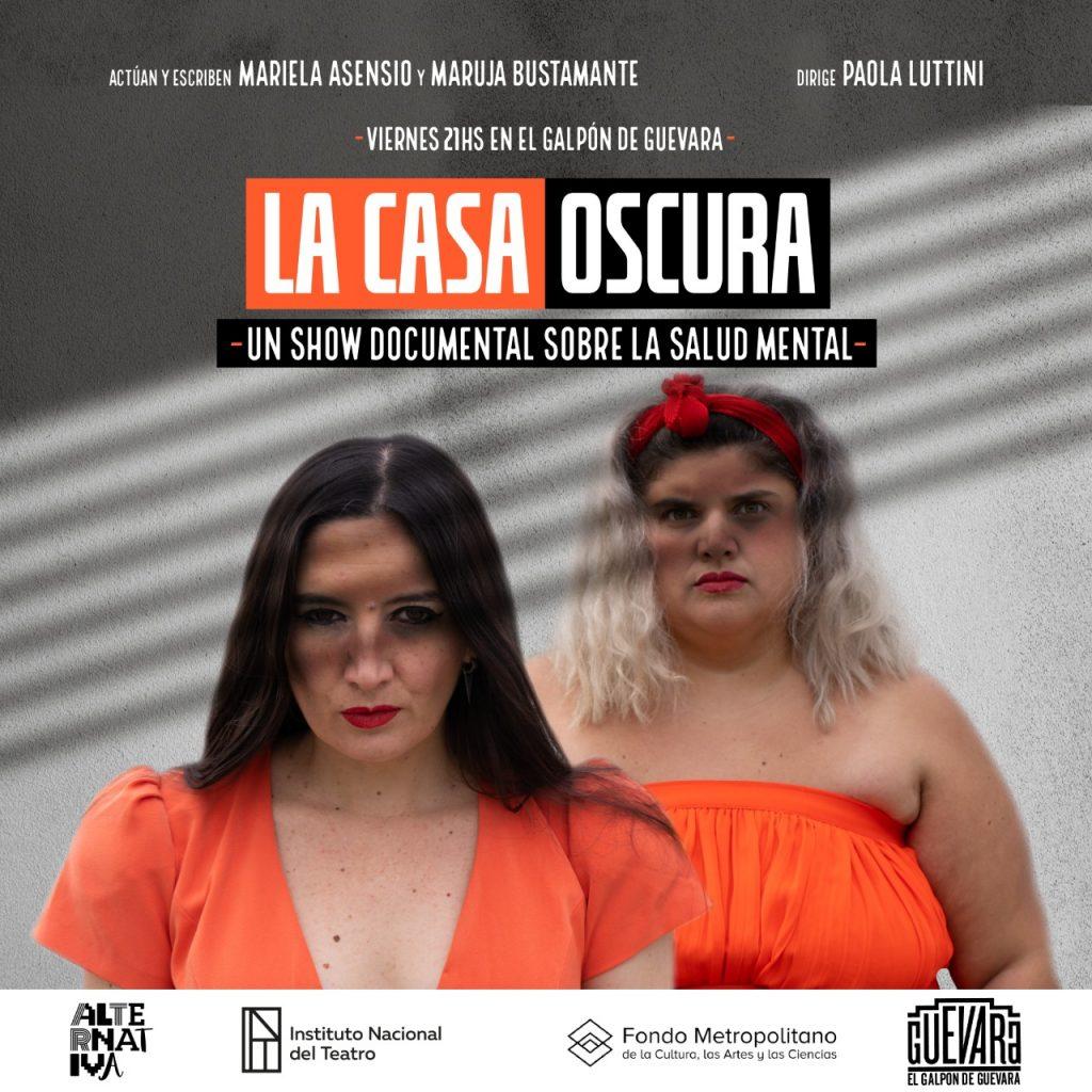 LA CASA OSCURA – Mariela Asensio